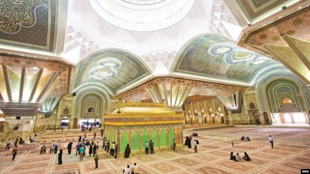 The lavish mausoleum of Ayatollah Khomeni, the founder of the Islamic Republic. Undated. FILE PHOTO