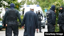 Pjesëtarë të policisë së Gjermanisë