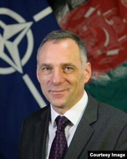 German diplomat Cornelius Zimmermann is NATO's senior civilian representative in Afghanistan.