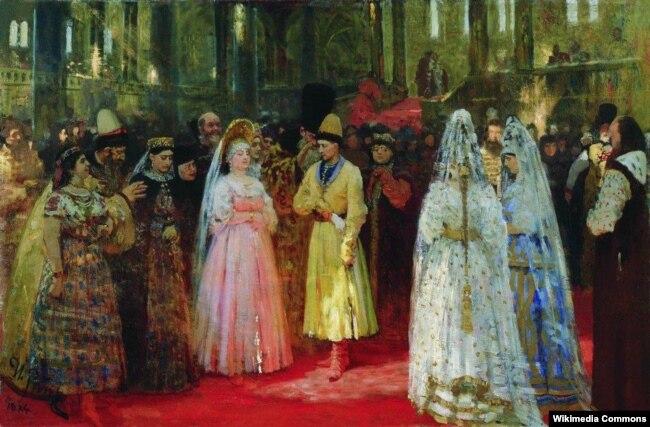 Илья Репин. Выбор великокняжеской невесты. 1884