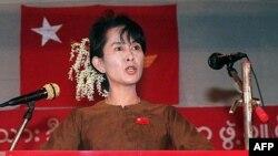 Aung San Suu Kyi, Yangon, 04. januar 1997.