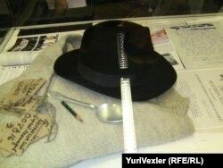 Вещи Сергея Магнитского на выставке в Берлине