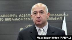 Грузия Ярашув ва фуқаровий тенглик давлат вазири Паата Закарешвили.