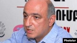 Председатель Ереванского пресс-клуба Борис Навасардян (архив)