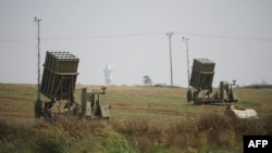 Un sistem anti-rachetă la Netivot în Israel