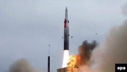 АКШнын анти-баллистикалык ракетасы. Калифорния. 29-июль, 2004-жыл.