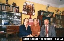 Зеновій Красівський і В'ячеслав Чорновіл (ліворуч)