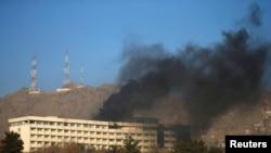 """""""Интерконтинентал"""" – Кабулдагы чет өлкөлүктөр көп токтогон мейманкалардын бири."""