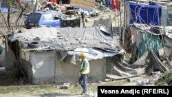 Romsko naslje Belvil, mart 2012.