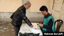 روند ثبت نام رأیدهندگان در ولایت کابل