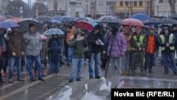 Protest građana Požege