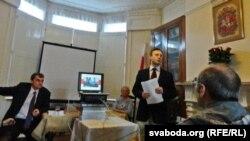 Павал Шаўцоў, Алена Міхалюк, Мікола Пачкаеў