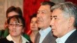 Наурыздың 20-сында өткен ЖСДП партиясының съезінде «Азат» партиясы мен Жалпыұлттық социал-демократиялық партиясы бір-бірінен бөлінетіні белгілі болды. Суретте: Жармахан Тұяқбай, ЖСДП төрағасы. Алматы, 20 наурыз 2013 жыл.