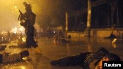 26 მაისს, საპროტესტო აქციის დასაშლელად პოლიციამ გამოიყენა წყლის ჭავლი, რეზინის ტყვიები და ხელკეტები