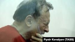 Oleg Sokolov in court in St. Petersburg on November 9.