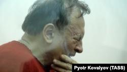 Олег Соколов в суде по избранию ему меры пресечения