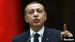 Kryeministri i Turqisë, Recep Tayyip Erdogan (Ilustrim)