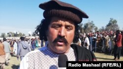 FILE: Sardar Arif Wazir is one of the leaders of the Pashtun Tahafuz Movement (PTM).