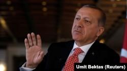 رجب طیب اردوغان، رییسجمهور ترکیه،