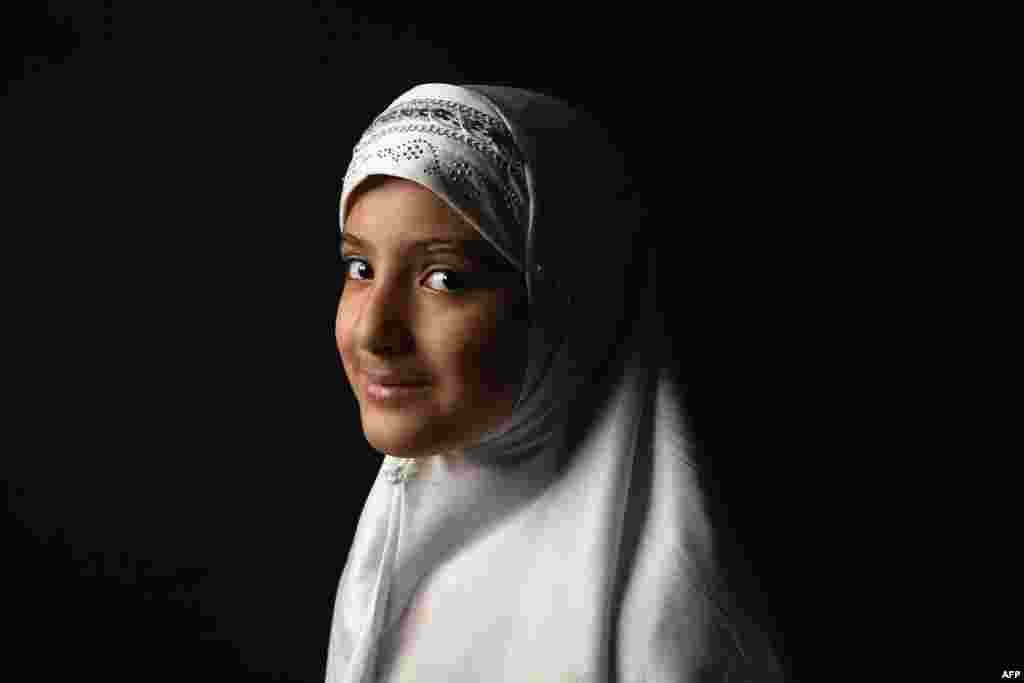Layla Hussain Nasher, 11, immigrated with her family from Yemen to Newburgh, New York.