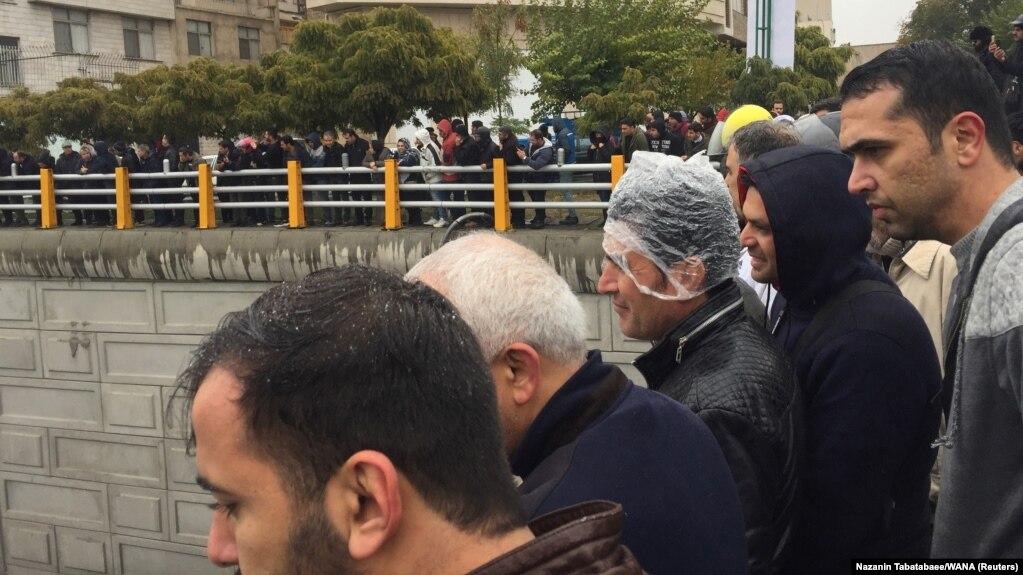 صحنهای از اعتراضهای تهران در روزهای اخیر