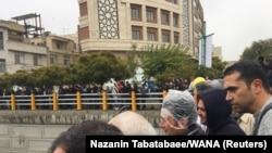 Tehranda etiraz, 16 noyabr, 2019-cu il