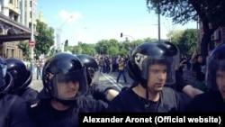 Украіна, міліцыя не магла стрымліваць дэманстрантаў