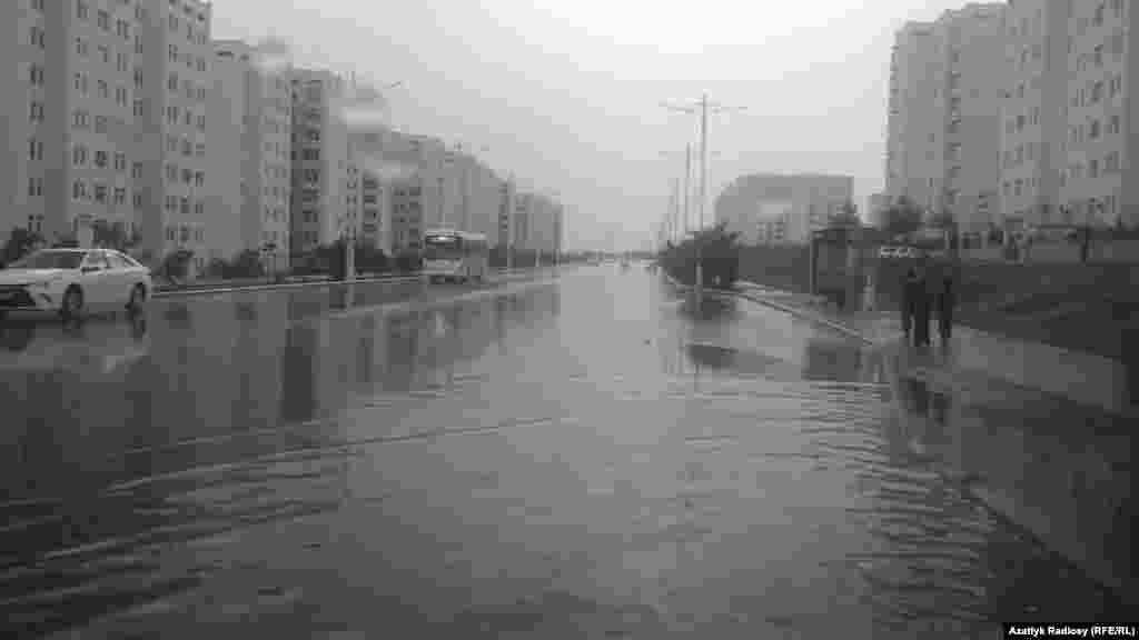 Ашхабад после дождя