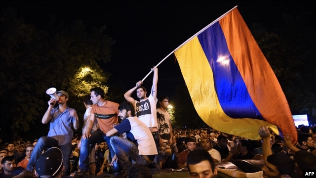 Armenians are mad as hell and aren't going to take it anymore.