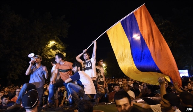 "The 'Electric Yerevan"" protests were sparked by a hike in electricity prices engineered by a Russian-owned power distribution network"
