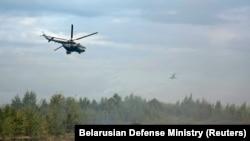 Военные учения «Запад-2017» в Беларуси, 14 сентября 2017 года
