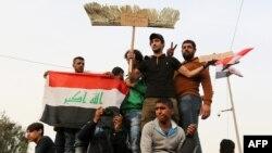 طرفداران مقتدی صدر در بغداد