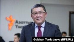 Қырғызстанның бұрынғы сыртқы істер вице-министрі Асқар Бешимов.