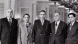 USSR -- Iran Tudeh Party leaders in Moscow