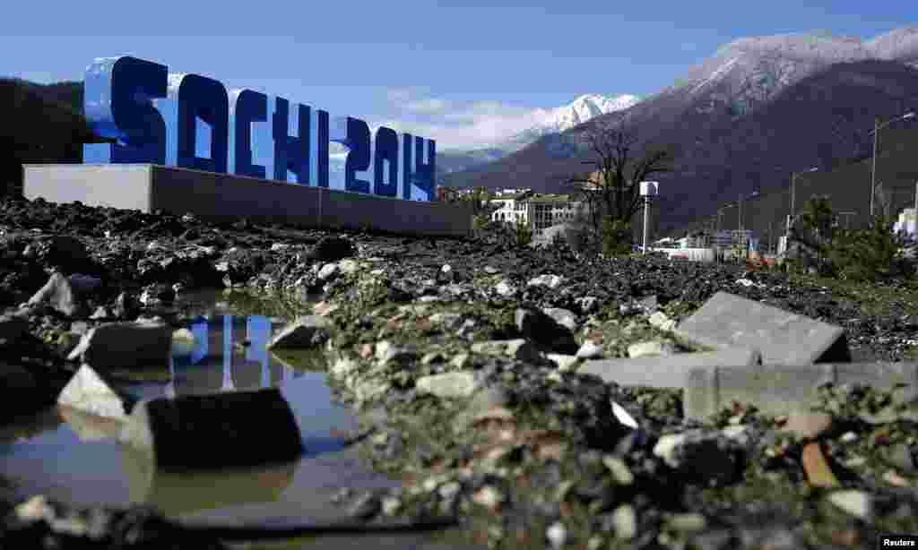 Сочи ждет гостей Олимпиады...