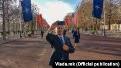 Архивска фотографија- премиерот Зоран Заев на самитот на НАТО во Лондон