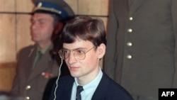 Матиас Руст в московском суде. 4 сентября 1987 года