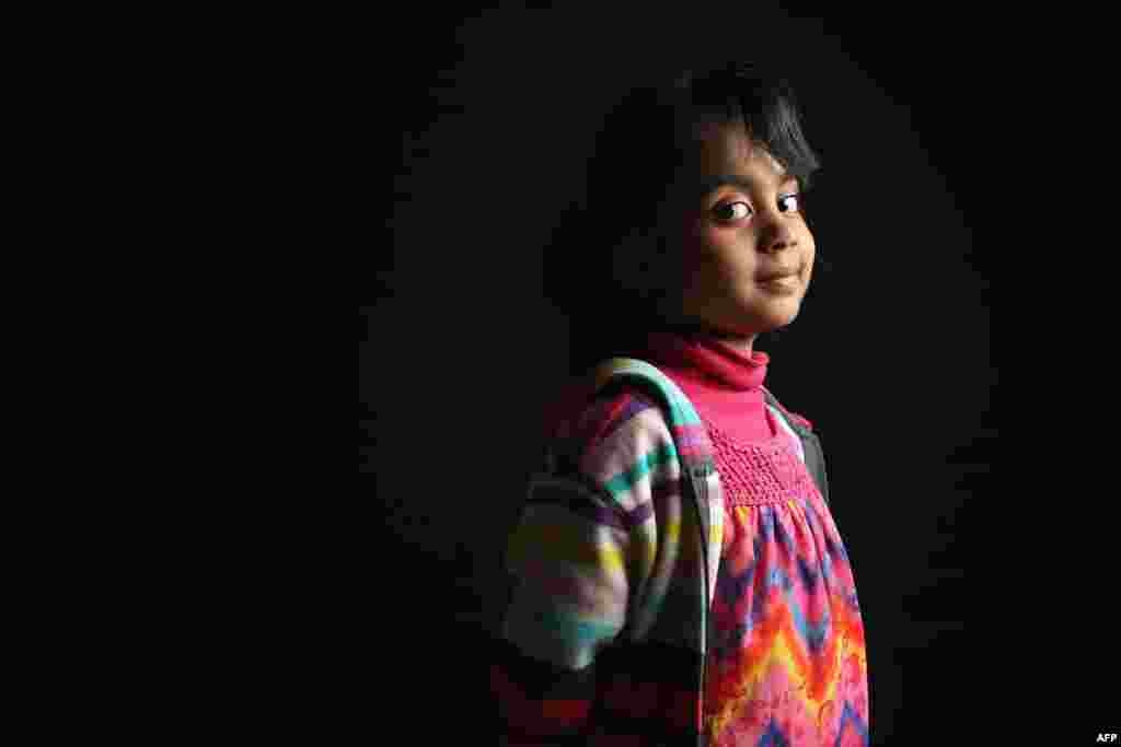 Haadiya Adnan, 5, was born in Pakistan. Her father, Adnan Chaudry, is a taxi driver. The family lives in Brooklyn.