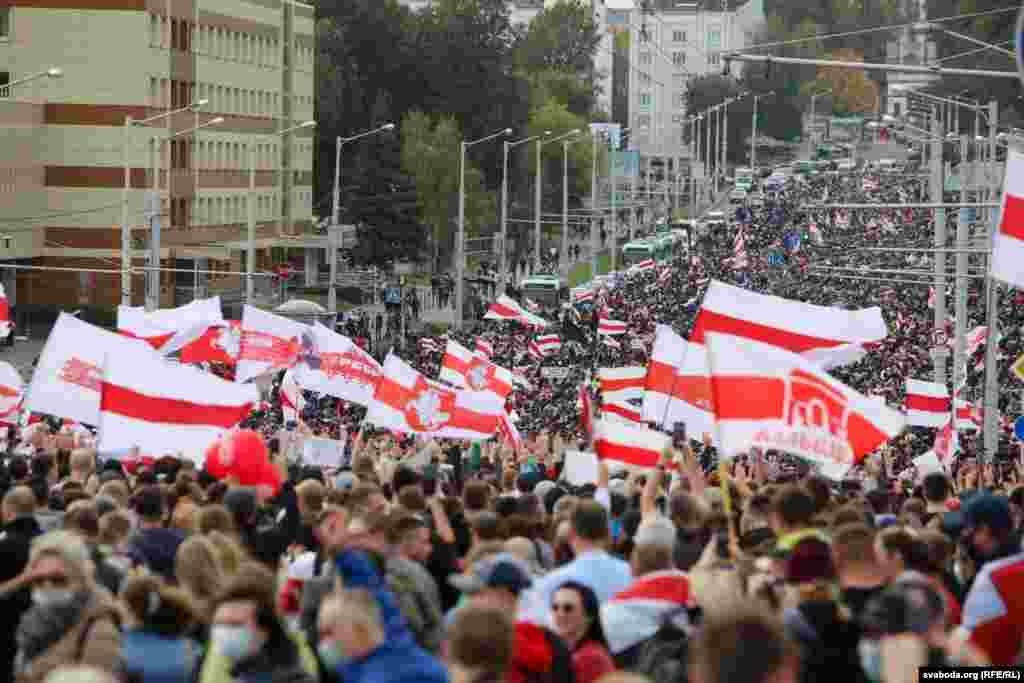 Марш в Минске