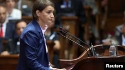 Premijerka Ana Brnabić, odgovornost prebacuje na opoziciju