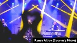 Концерт «Святої ватри» під час фестивалю в Естонії