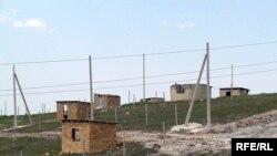A Crimean Tatar settlement near Simferopol