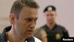 Навальный на заседании Ленинского районного суда