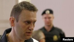 Алексей Навальный в суде города Кирова