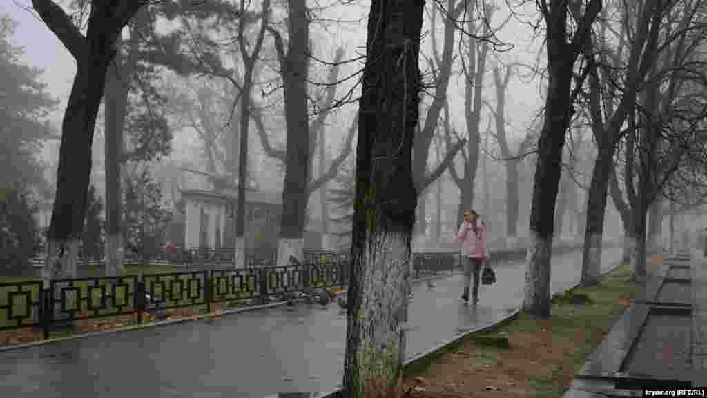 Туман у Сімферополі
