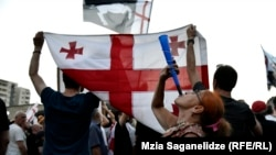 Представители «Грузинского марша», выступают против заявок о поддержке LGBT-сообщества в спортивных кругах