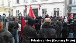 Sa protesta u Budimpešti