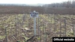 Знищені стародавні кургани, Запорізька область (фото обласного центру охорони культурної спадщини)