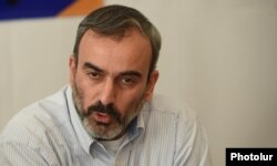 Armenian opposition activist Zhirayr Sefilian (file photo)