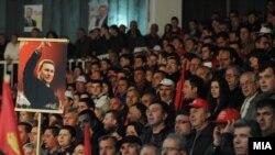 Përkrahës të kryeminsitrit Nikolla Gruevski.